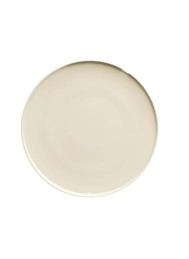 Kütahya Porselen Chef Taste Of 32 Cm Düz Tabak Krem Krem